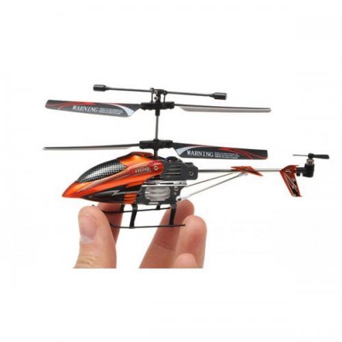 Радиоуправляемый вертолет  Syma S110G micro с гироскопом (светодиоды)
